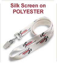 Silk Screened Polyester