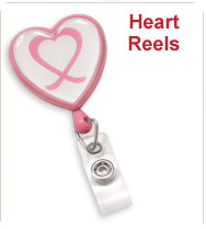 Custom Heart Badge Reels