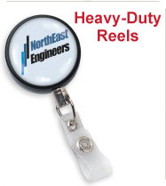 Custom Heavy Duty Badge Reels