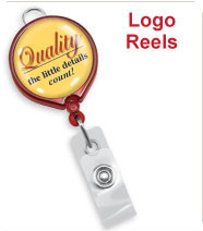 Custom Logo Badge Reels