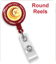 Custom Round Badge Reels